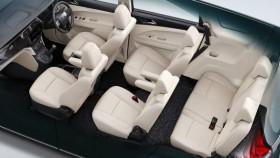 Upcoming Mahindra Marazzo MPV cabin revealed, available in 7 and 8 seater layouts