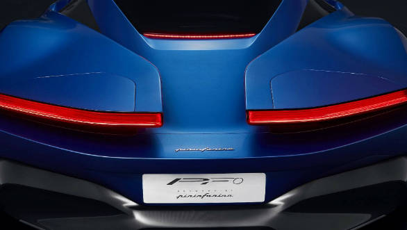Mahindra-backed Automobili Pininfarina releases teaser image showing its first EV hypercar, the PF0