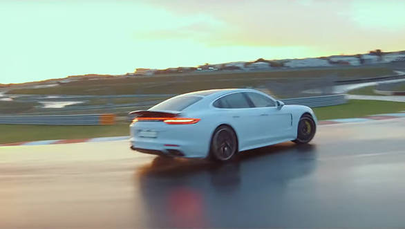 Porsche Panamera Turbo S E-Hybrid sets lap records at six racetracks including BIC