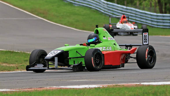 Indian National Racing Championship 2018: Raghul Rangasamy leads the MRF F1600 championship going into final round