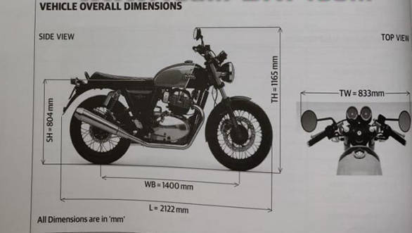 Royal Enfield Interceptor 650 and Continental GT 650 specifications and details leaked ahead of launch