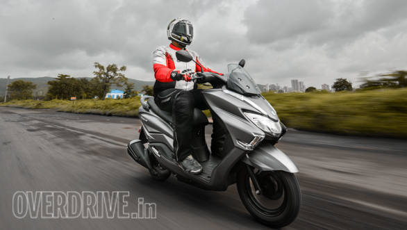 2018 Suzuki Burgman Street road test review