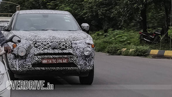 EXCLUSIVE: More spy images of the upcoming Tata Harrier SUV