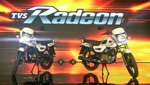 TVS Radeon 110cc commuter motorcycle launched in India at Rs 48,400