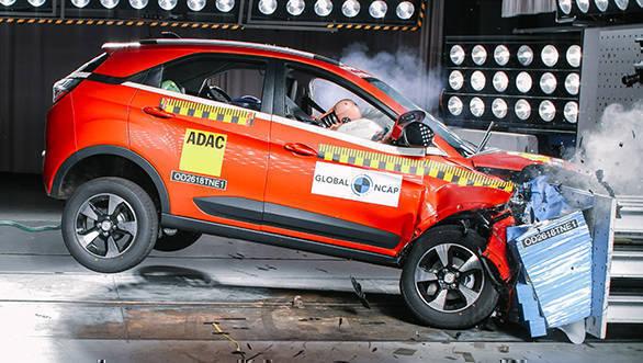 Tata Nexon SUV gets four star in GNCAP crash tests