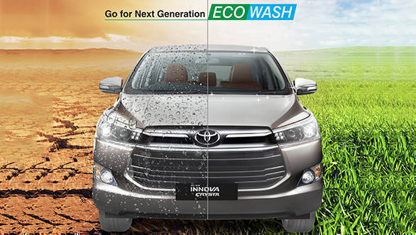 Toyota introduces eco car wash service at 100-plus India dealerships to conserve water