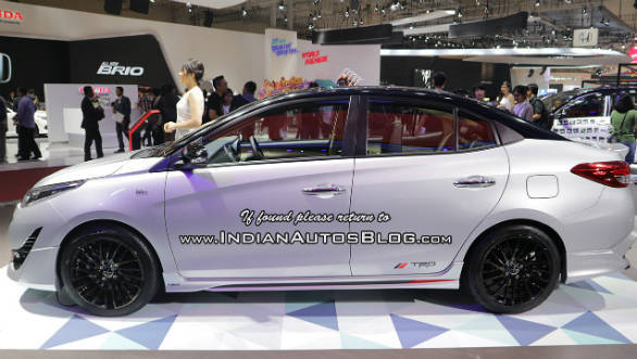 Sportier Toyota Yaris TRD Sportivo shown at GIIAS 2018