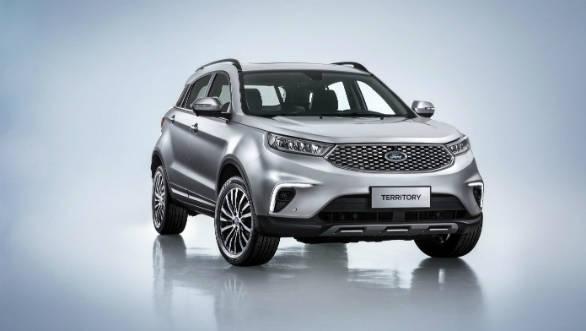 Ford Territory SUV revealed for China, rivals Hyundai Creta