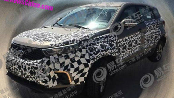 Chinese market Ford Territory seen in spy images for the first time
