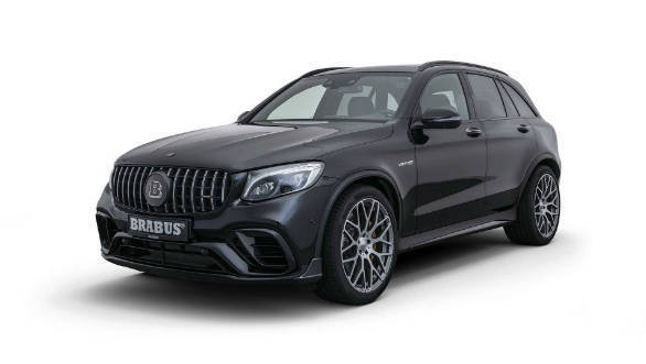 Brabus makes a 600PS Mercedes-AMG GLC 63 S SUV