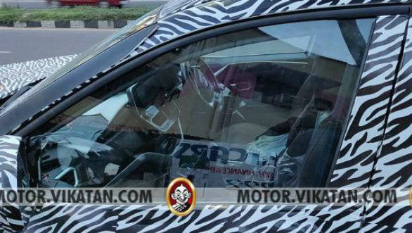 Upcoming Tata Harrier SUV interior revealed in spy images