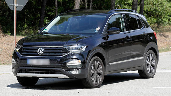 Volkswagen Polo-based T-Cross SUV spied undisguised