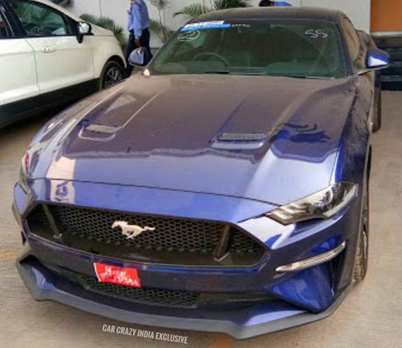 Ford Mustang Gt Spotted In India
