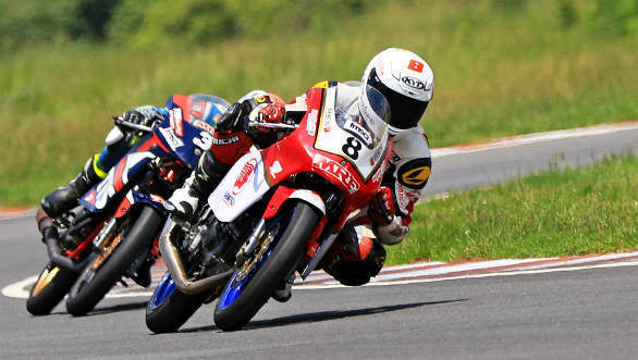 2018 INMRC: Jagan Kumar widens lead in the Super Sport category