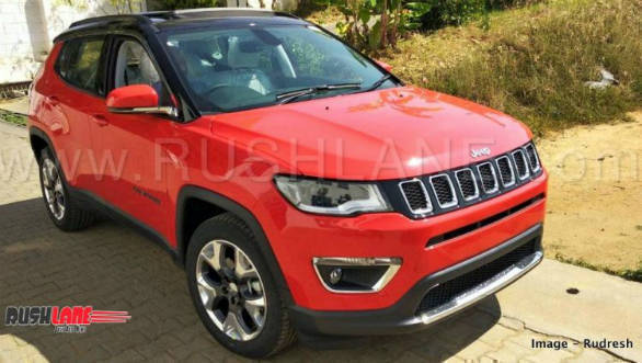 New Jeep Compass Limited Plus variant spotted ahead of September 20 launch