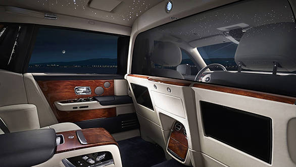 Rolls-Royce Phantom with new isolated rear cabin revealed