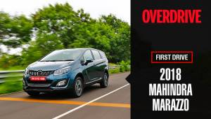 2018 Mahindra Marazzo First Drive review | Details, specifications and price
