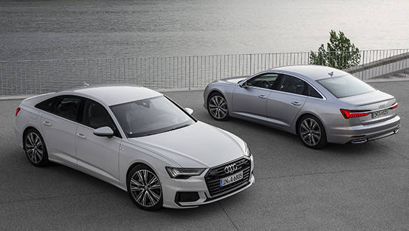 New Gen Audi A6 Spied Testing In India Overdrive