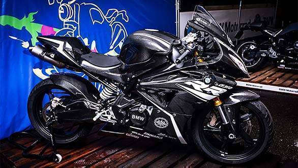 Is this TVS Apache RR 310-based 2019 BMW G310RR supersport real?