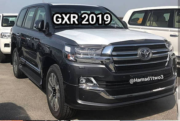 Lexus 570 2019 >> 2019 Toyota Land Cruiser and Lexus LX 570 Black Edition S spied - Overdrive