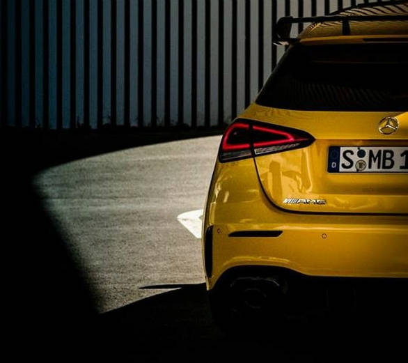 Mercedes-AMG A35 Hot Hatchback Teased Ahead Of Paris Motor