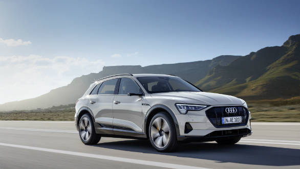 India-bound Audi e-tron SUV launched globally starting at USD 74,600