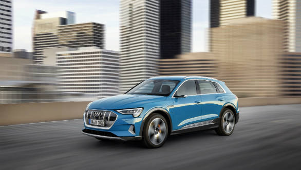 Image gallery: Audi e-tron electric SUV unveiled