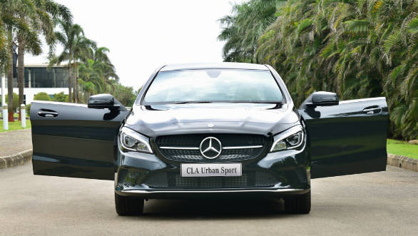 Mercedes-Benz launches the CLA 200 Urban Sport and CLA 200d Urban Sport at Rs 35.99 lakh and 36.99 lakh