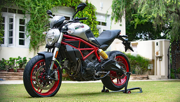 Ducati Monster 797 gets a Rajputana Customs special edition in India