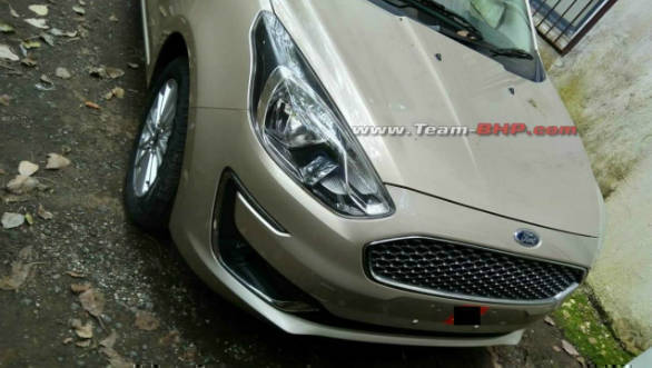 2018 Ford Aspire facelift spotted undisguised ahead of October 4 launch