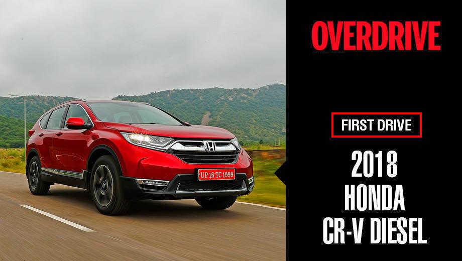 2018 Honda CR-V diesel | First Drive Review