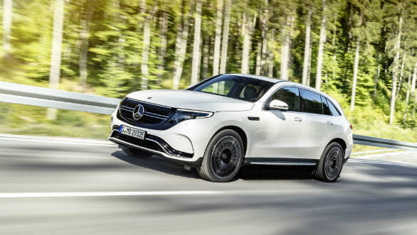Mercedes-Benz unveils the EQC SUV, its first all-electric model