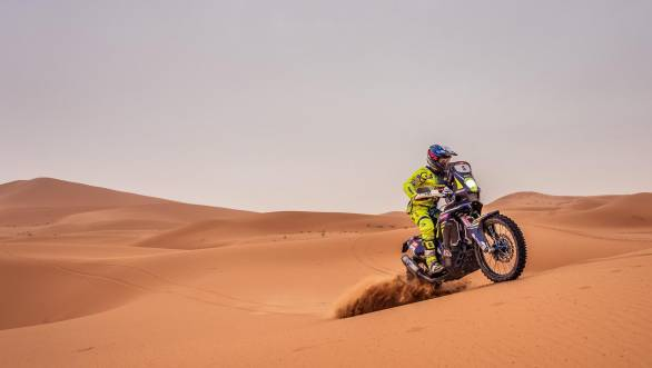 2018 Panafrica Rally: Sherco TVS' Michael Metge finishes first in overall standings
