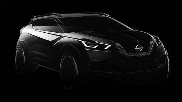 Nissan Kicks SUV teased, to rival Hyundai Creta in India