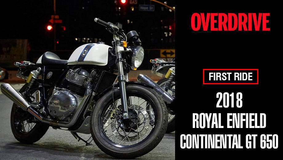 Royal Enfield Continental GT 650 quick first ride review
