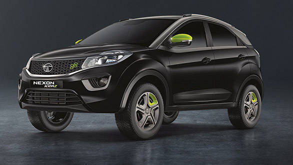 Limited edition Tata Nexon Kraz launched at Rs 7.14 lakh