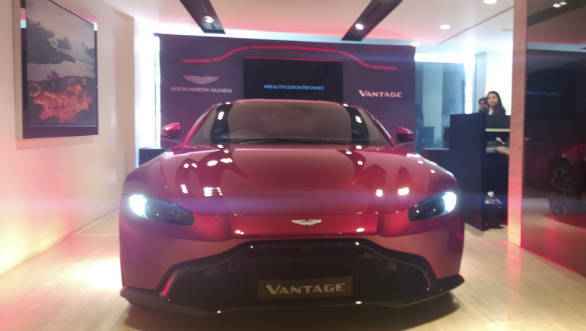 Image gallery: 2018 Aston Martin Vantage launched in India