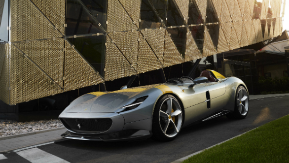 Limited edition Ferrari Monza SP1 and SP2 showcased