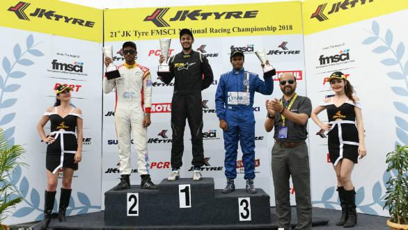 2018 JK NRC: Ashwin Datta leads three-way championship battle for Euro JK 18