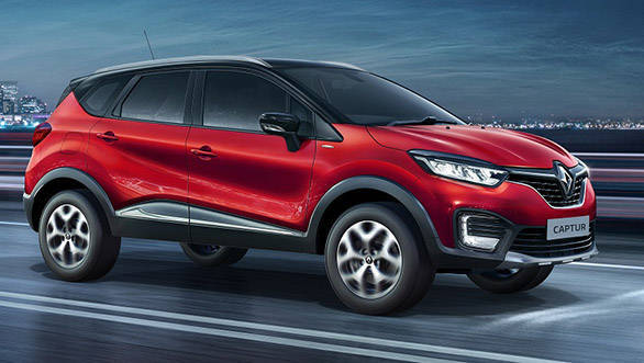 Renault Captur offered with benefits of upto Rs 81,000 in India
