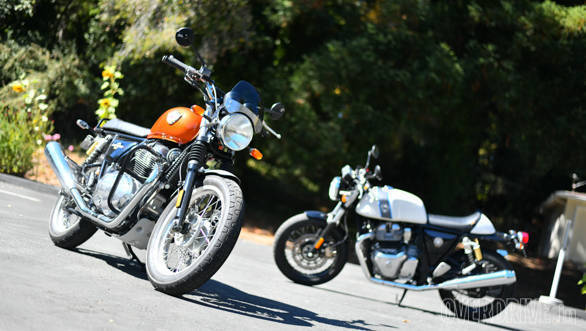 Heres Where You Can Test Ride Or Book The Royal Enfield 650 Twins