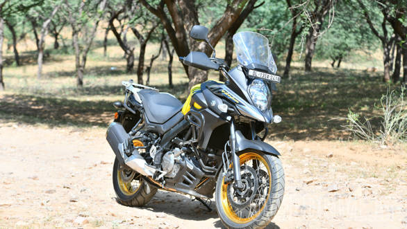 suzuki v strom 650 xt road test review overdrive. Black Bedroom Furniture Sets. Home Design Ideas
