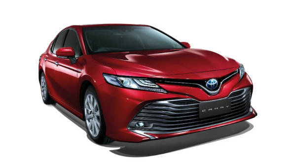 2019 Toyota Camry Hybrid To Launch In India On January 18 Overdrive