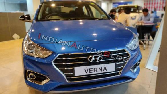 Hyundai Verna Anniversary Edition Starts Arriving On Dealer Floors