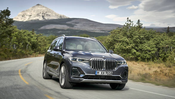 2019 Bmw X7 Suv Unveiled Internationally Overdrive