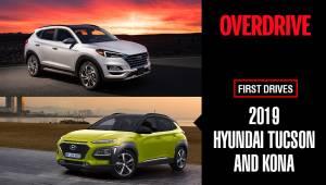 2019 Hyundai Tucson and Kona | First Drives