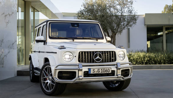2019 mercedes amg g 63 suv launched in india at rs. Black Bedroom Furniture Sets. Home Design Ideas