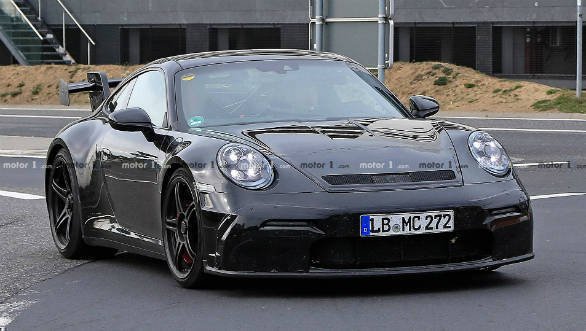 Next Generation Porsche 911 Gt3 Rs Spied Ahead Of A 2020 Debut Overdrive