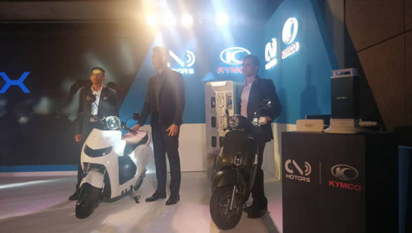 Kymco enters the Indian electric scooter market with 22 Motors