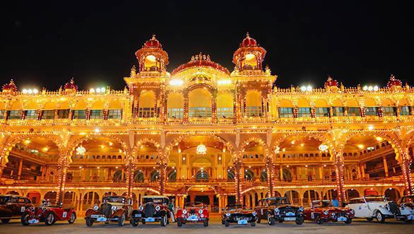 FHVI's Royal Classic Car Drive to Mysore